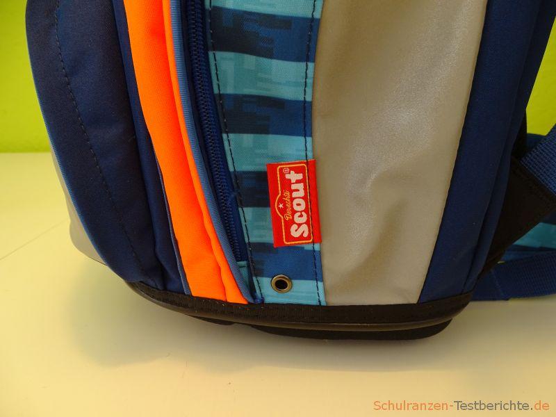 Ablauföffnung Seitentasche
