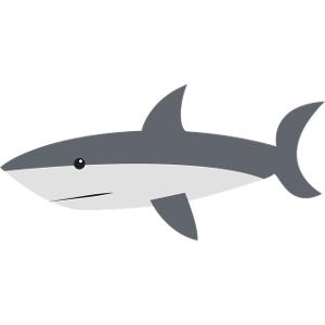 Schulranzen Hai