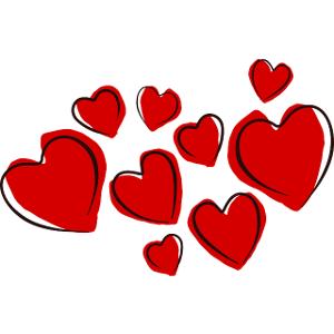 Schulranzen Herzen