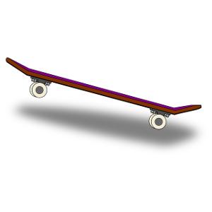 Schulranzen Skateboard