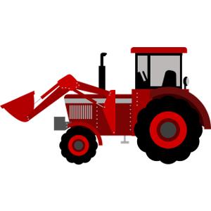 Schulranzen Traktor