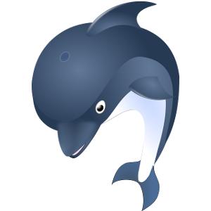 Schulranzen Delfin