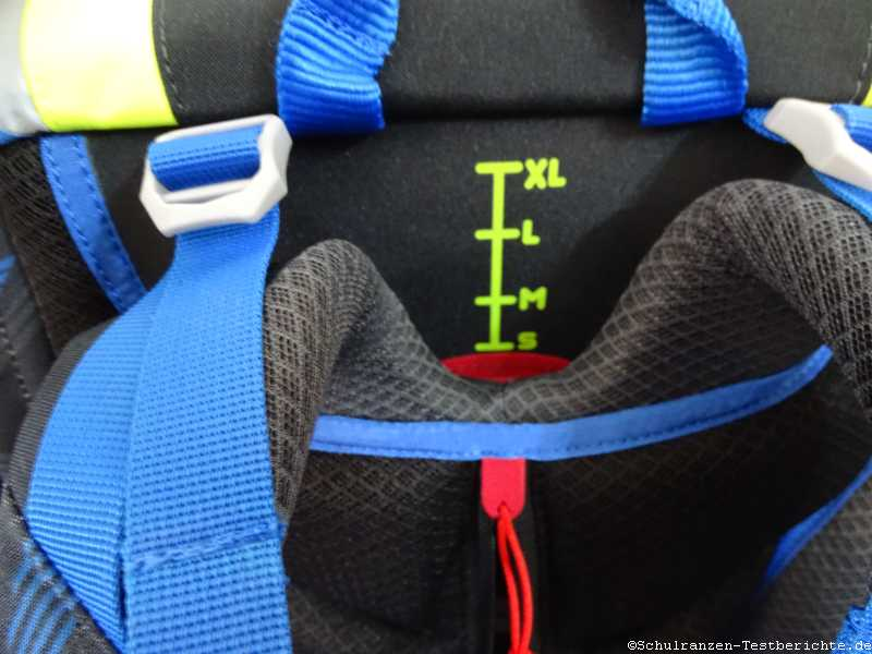 Scout Ultra Test höhenverstallbares Tragegurtsystem